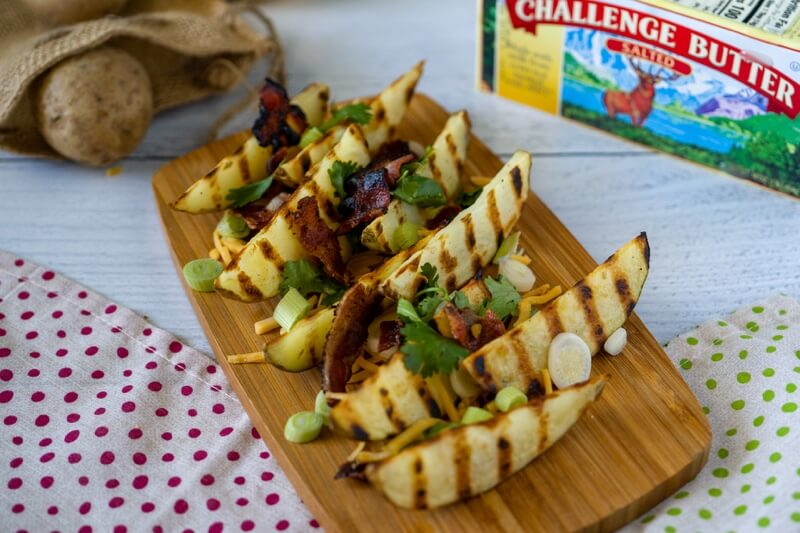 Loaded Bacon Ranch Potato Wedges