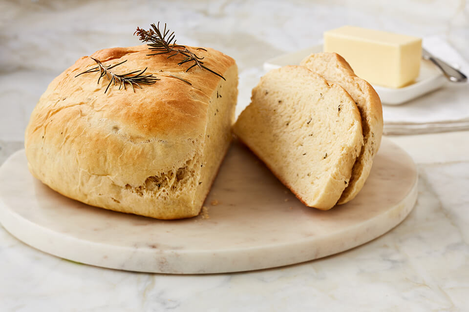Buttery Rosemary Bread