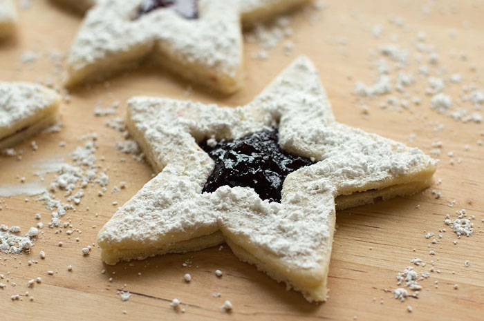 Jam-Filled Star Sandwiches