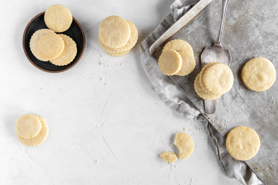 Shortbread Butter Cookies