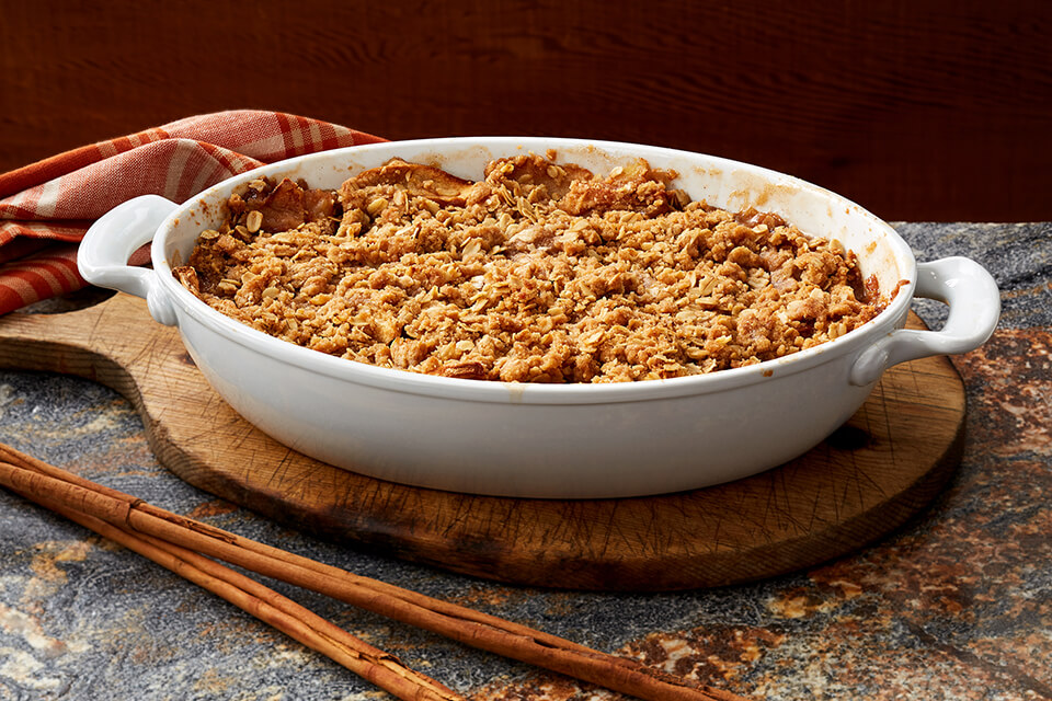 Snappy Ginger Apple Crisp