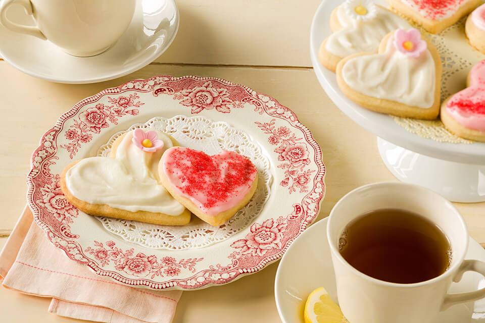 Valentine Butter Cookie Cut-outs