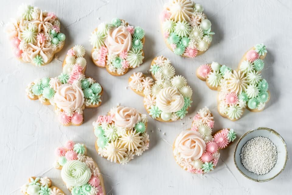 Easter Butter Cookies