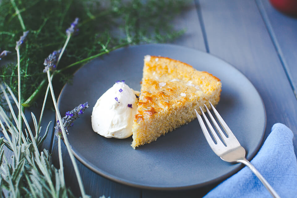 Honey Lavender Whipped Cream Cheese Spread